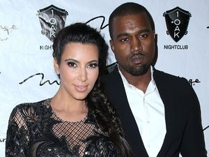 Kim Kardashian and Kanye West - New Year's Eve Party at 1 OAK, Mirage Resort Hotel and Casino, Las Vegas, America - 31 Dec 2012
