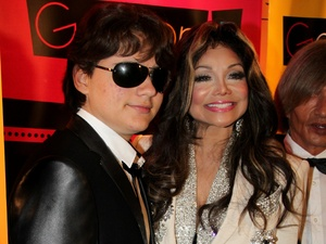 Prince Michael Jackson and La Toya Jackson at Jummim's charity gala in Germany.