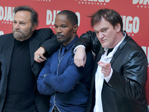 &quot;Django Unchained&quot; Rome photocall at Hassler Hotel