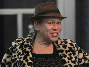 Tina Malone arrives for Dancing On Ice rehearsals - 3 January 2013