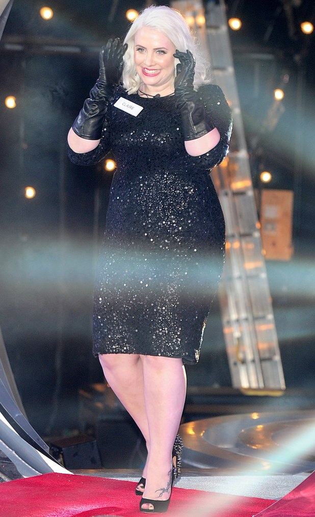 Claire Richards arriving at the launch of Celebrity Big Brother 2013