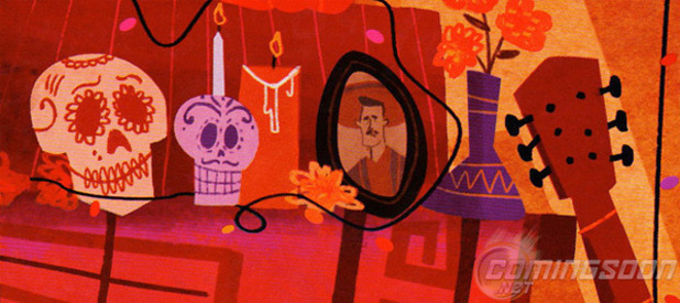 Lee Unkrich's untitled 'Dia de los Muertos' project concept art