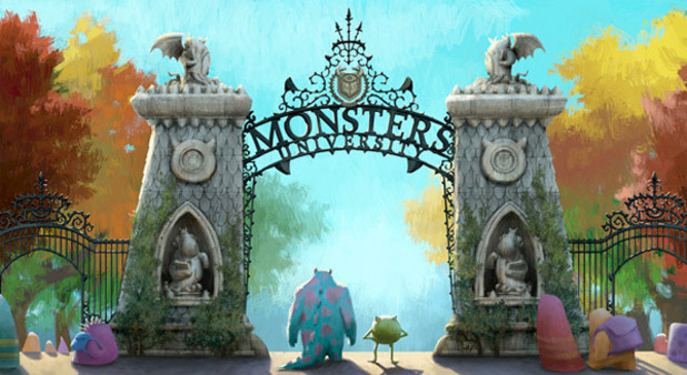 'Monsters University' concept art