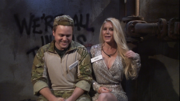Celebrity Big Brother 2013 - Day 1: Spencer and Heidi