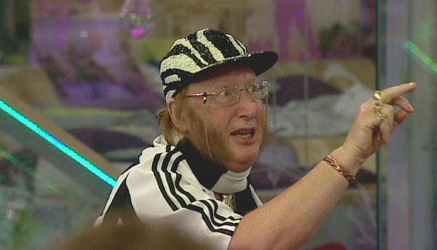 John McCririck' celebrity big brother underwear