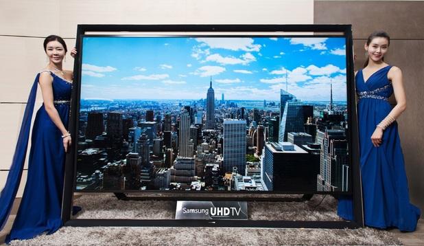 Samsung's 110-inch Ultra HD TV