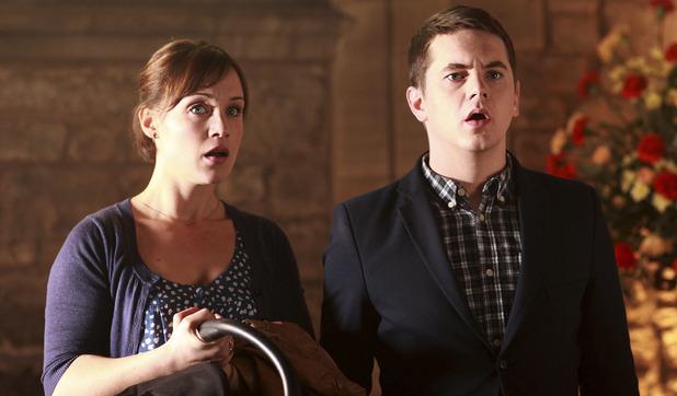 Pramface: Laura Derbyshire (SCARLETT ALICE JOHNSON), Jamie Prince (SEAN MICHAEL VEREY)