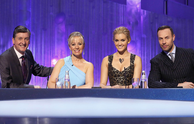 Robin Cousins, Karen Barber, Ashley Roberts and Jason Gardiner.