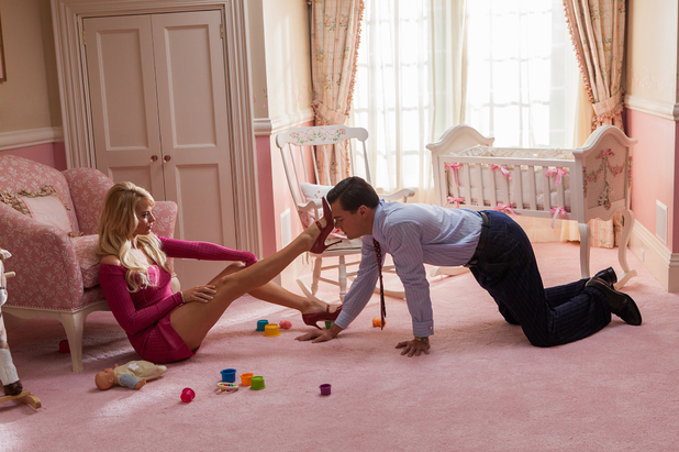 Leonardo DiCaprio and Margot Robbie in 'The Wolf Of Wall Street'
