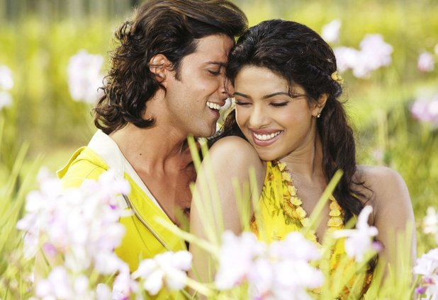 Hrithik Roshan and Priyanka Chopra in Krrish