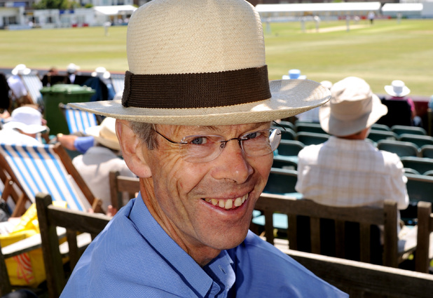 Cricket writer and broadcaster, Christopher Martin-Jenkins