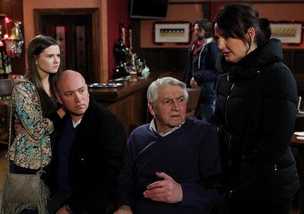 Yvonne breaks some bad news to Bela.
