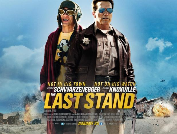 &#39;The Last Stand&#39; poster