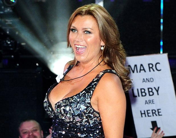 Tricia Penrose arriving at the launch of Celebrity Big Brother 2013