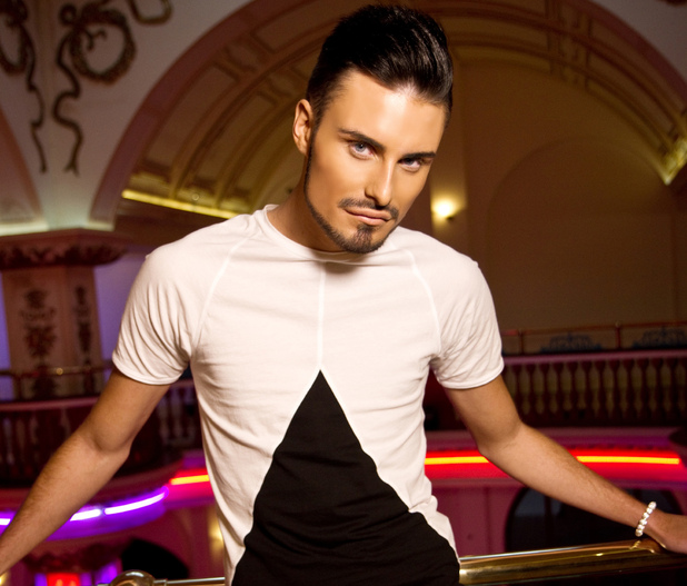 Rylan Clark takes part in Celebrity Big Brother 2013
