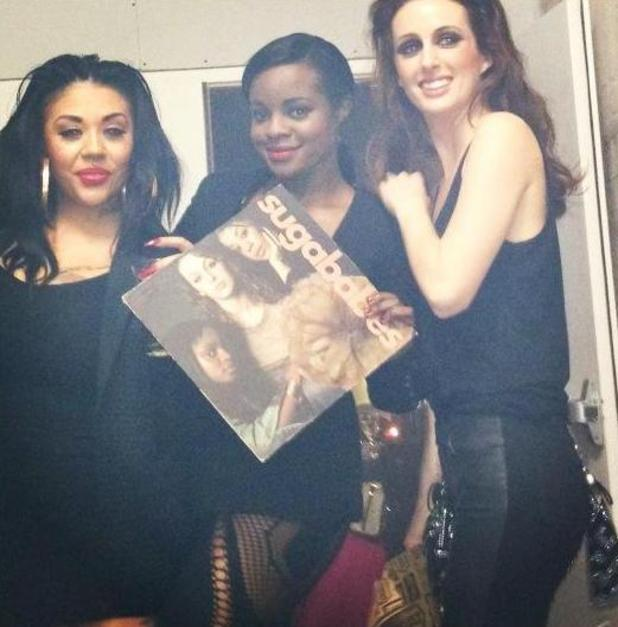 Mutya Keisha Siobhan post picture of their record on Twitter