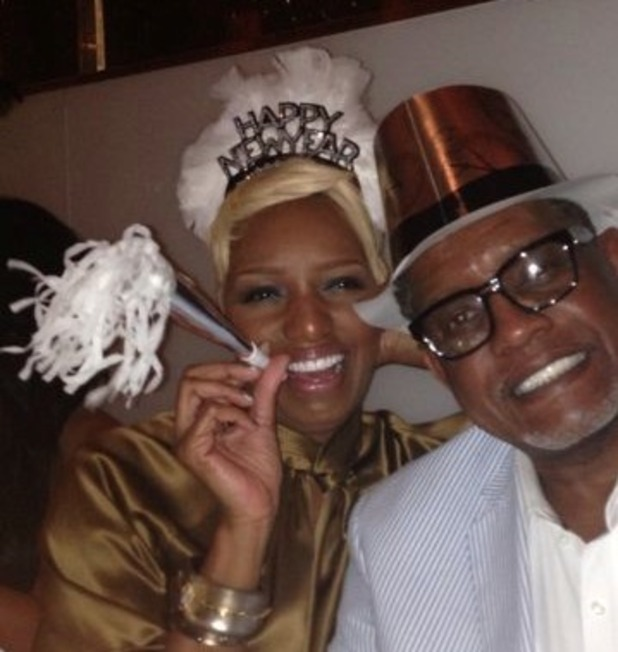 NeNe Leakes and ex-husband Gregg Leakes celebrate New Year's Eve