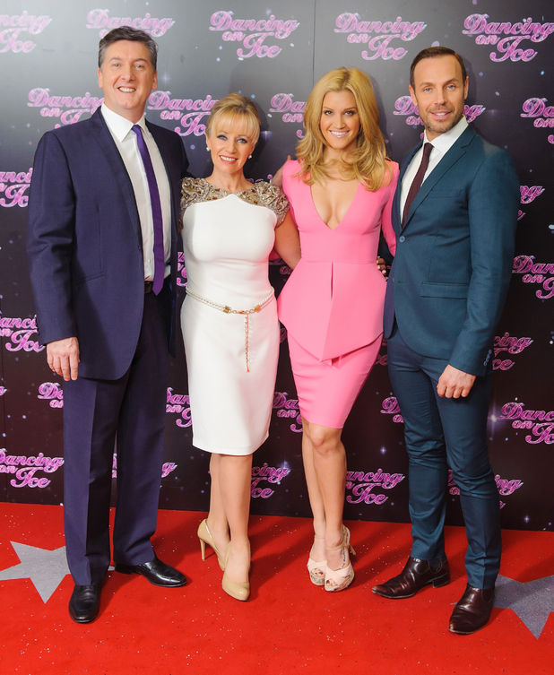 Robin Cousins, Karen Barber, Ashley Roberts and Jason Gardiner