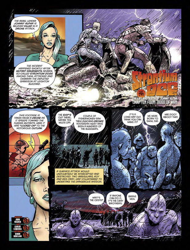 Strontium Dog 'The Life and Death of Johnny Alpha Chapter Four: Dogs of War'