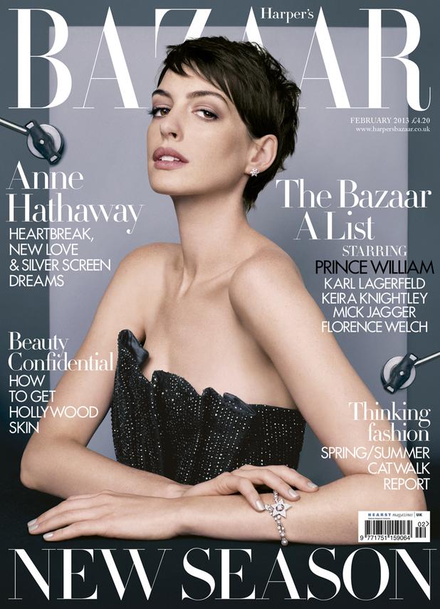 Anne Hathaway, Harper's Bizaar
