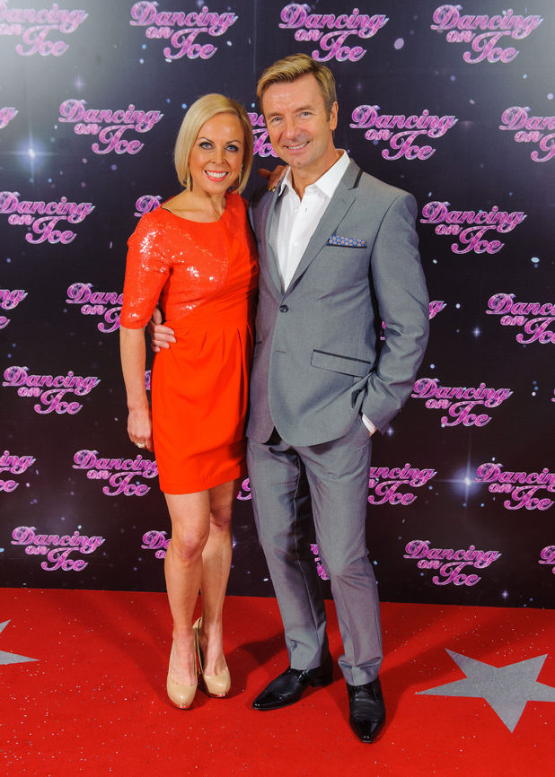 Jayne Torvill and Christopher Dean at a photocall for the launch of the new series of 'Dancing on Ice' at the ITV Studios, London