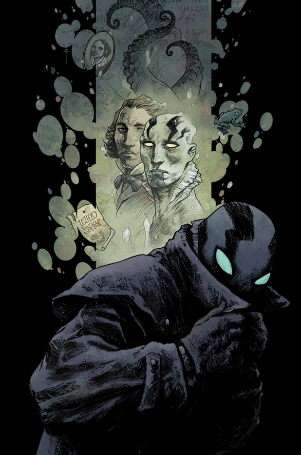 'Abe Sapien: The Dark and Terrible' #1 artwork