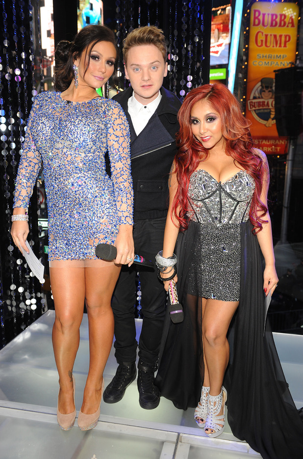 Jwow, Conor Maynard, Snooki, MTV's Club NYE 2013