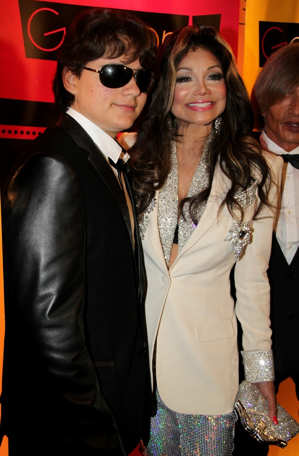 Prince Michael Jackson and La Toya Jackson 