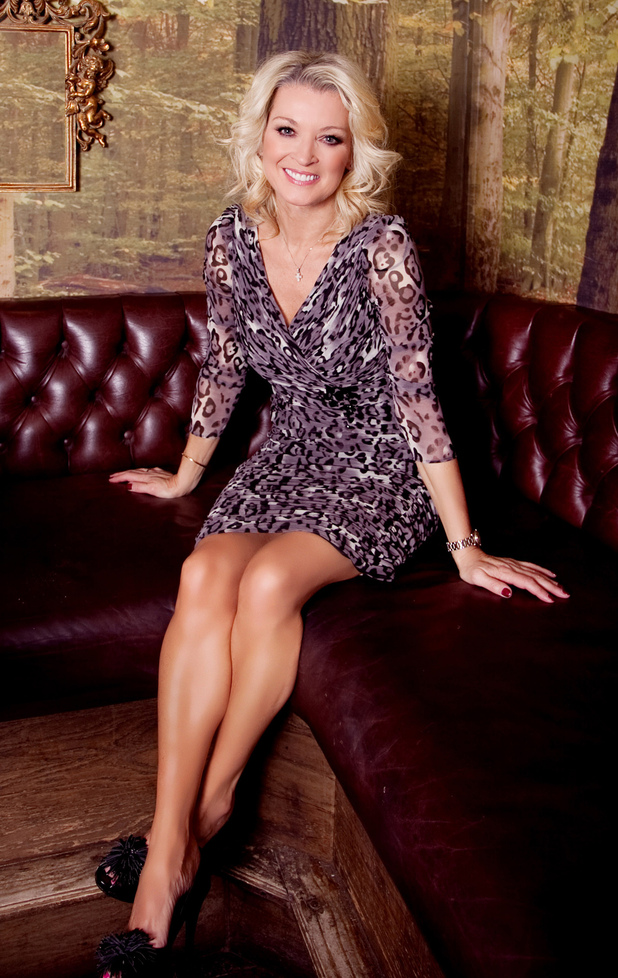 Gillian Talyforth takes part in Celebrity Big Brother 2013