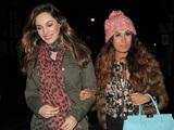 Kelly Brook and Preeya Kalidas out and about in London.