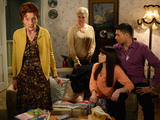 Dot tells Cora to leave the house.