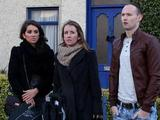 Suzanne, Louise and Ryan arrive in Carrigstown.