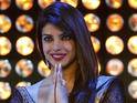 Priyanka Chopra records the dialog for her latest film in three languages.