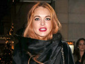Lindsay Lohan apparently visits Manchester during recent UK visit.