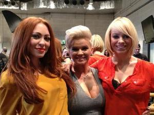 Atomic Kitten filming for The Big Reunion