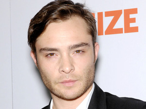 Gossip Girl actor Ed Westwick at 'Fun Size' film premiere, Los Angeles, America - 25 Oct 2012