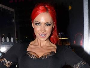 Jodie Marsh Guests on Katherine Lynch's new RTE show 'The Big Fat Breakfast Show' Dublin, Ireland - 25.09.12 Mandatory Credit: WENN.com