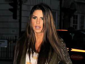 Katie Price out and about in London