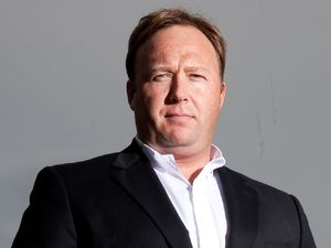 American Shock jock, Alex Jones based in Austin Texas. Alex runs the daily hit radio show &quot;The Alex Jones Show&quot; and