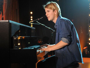 The Brit Awards 2013 launch night: Tom Odell performing