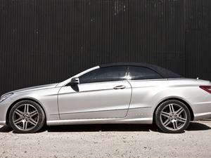 Mercedes E Class Convertible