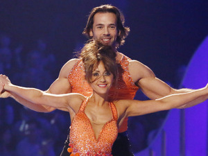 Dancing on Ice Week 2: Samia and Sylvain.
