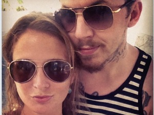 Millie Mackintosh and Professor Green on holiday