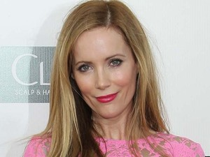 Leslie Mann arriving at the 18th Annual Critics' Choice Movie Awards held at Barker Hangar, California