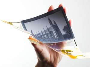 Small Flexible Plastic Display