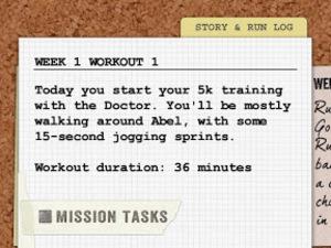 'Zombies, Run! 5k Training' screenshot