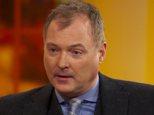 John Leslie appears on &#39;Daybreak&#39;