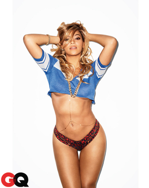 Beyoncé in GQ US, Feb 2013.