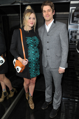 Rock stars and celebrities attend Liam Gallagher's 'Pretty Green London Collections: Men's Autumn/Winter 2013 Launch' held at The Arts Club Featuring: Jesse Wood, Fearne Cotton