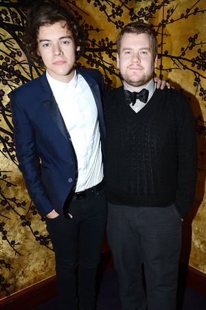Harry Styles, James Corden, Tom Ford London Collections Party